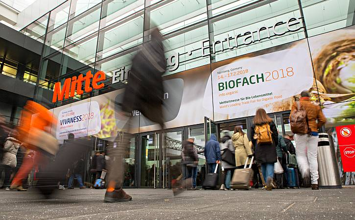 The next edition of BIOFACH and VIVANESS will take place from 13 to 16, February 2019
