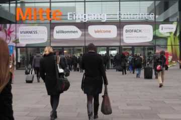 Main entrance to BioFach/Vivaness 2017