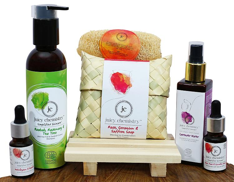 JC's handcrafted creations comprise organic ingredients sourced from almost every region in India