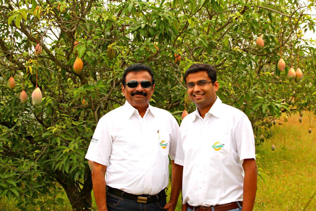 Durairaj Rangaswamy (left) and Gopinath Durairaj-Mother India Farms, India