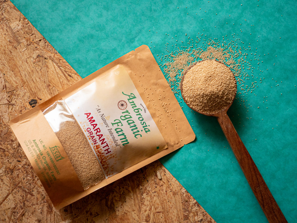 Organic amaranth from Ambrosia Organic Farm - Pure & Eco India