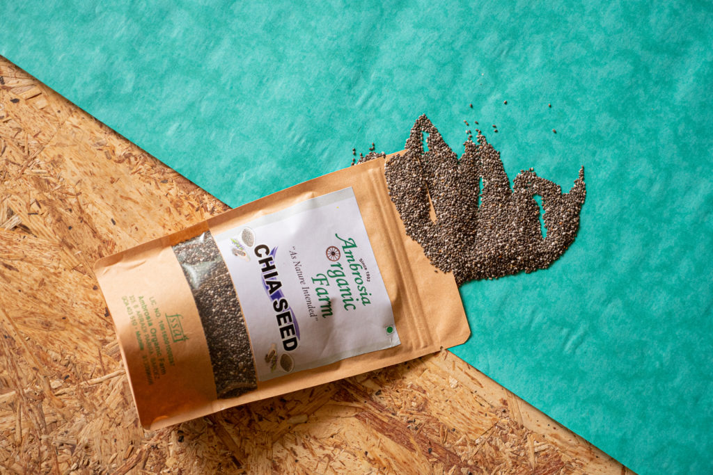 Organic chia from Ambrosia Organic Farm - Pure & Eco India
