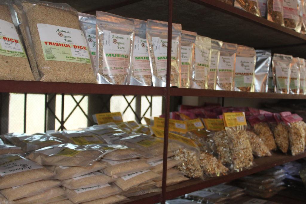 Organic groceries from Ambrosia Organic Farm - © Pure & Eco India