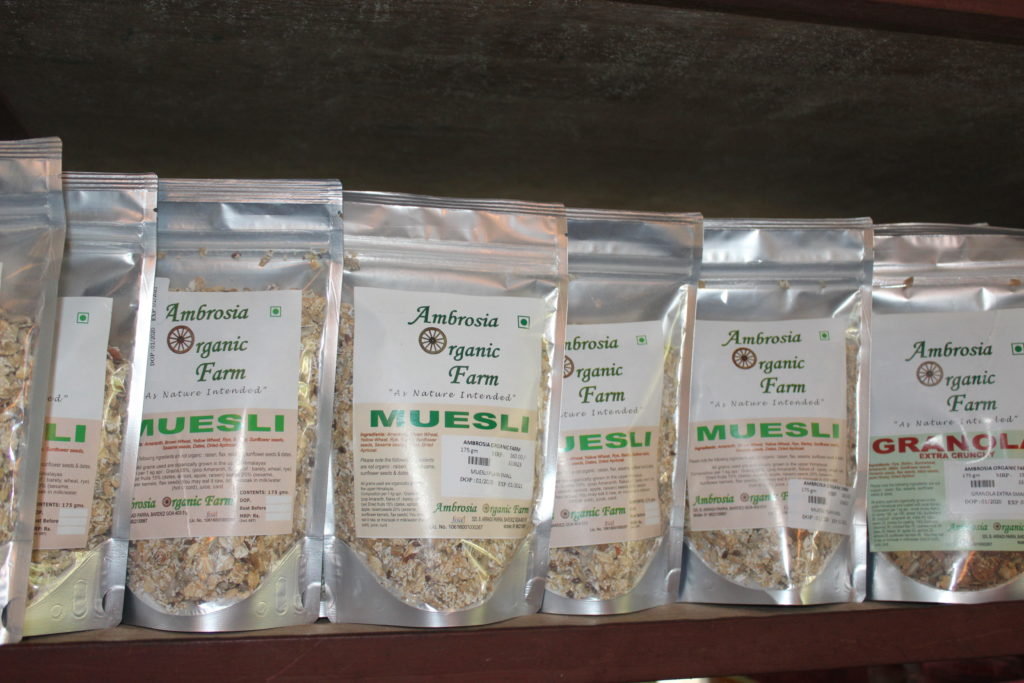 Organic muesli from Ambrosia Organic Farm - © Pure & Eco India