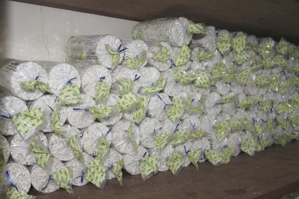 Organic rice cakes from Ambrosia Organic Farm - © Pure & Eco India--