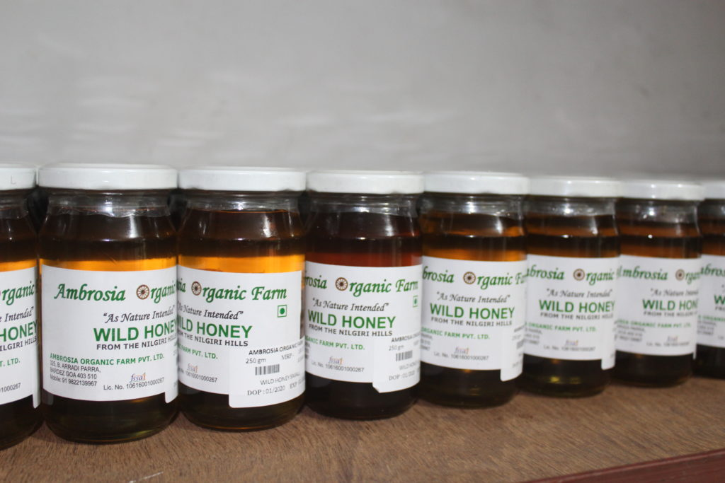 Organic wild honey from Ambrosia Organic Farm - © Pure & Eco India